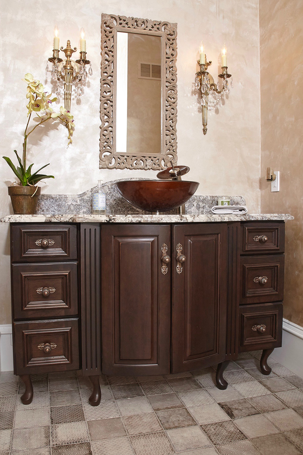 Bathroom Vanity Vessel Sink
